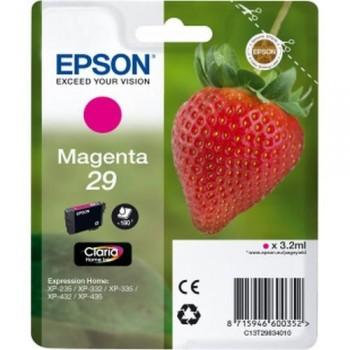 EPSON CARTUCHO TINTA C13T29834010 Nº 29 MAGENTA