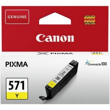 CANON CARTUCHO TINTA 0388C001 CLI-571Y AMARILLO