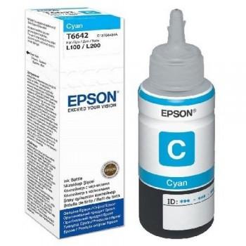 EPSON CARTUCHO TINTA C13T664240 Nº T6642 CIAN