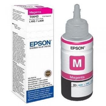 EPSON CARTUCHO TINTA C13T664340 Nº T6643 MAGENTA