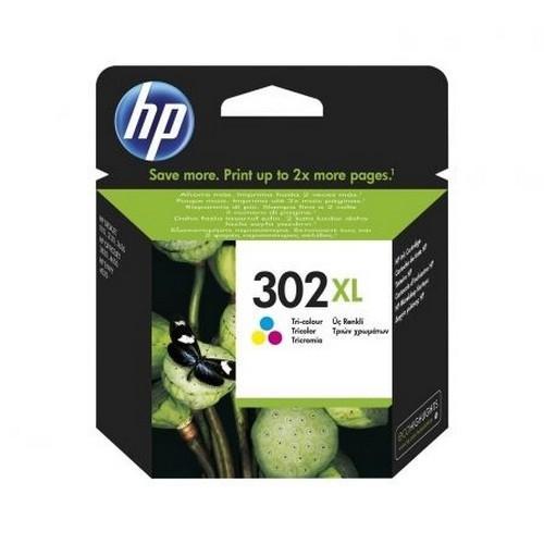HP CARTUCHO TINTA F6U67AE Nº302XL TRICOLOR