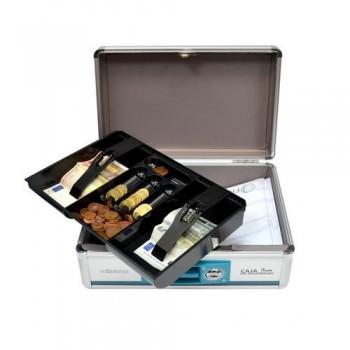 Caja de Seguridad con Llave y Bandeja Interior Professional Series Office Box ESENCIALES
