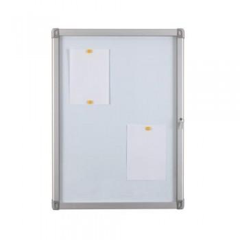 Vitrina para exterior superficie blanca Magnética 68 x 50 cm. (4xA4) Planning Sisplamo ESENCIALES