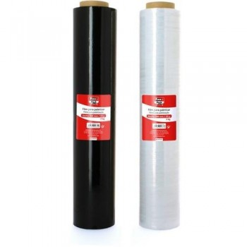 Film extensible 23 micras 500 mm. 2,4 kg Transparente Fixopack ESENCIALES