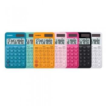 Calculadora bolsillo 10 dígitos azul claro Casio SL310UC-WE ESENCIALES
