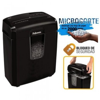 Destructora corte en partículas de 4x35mm 8Cd Fellowes ESENCIALES