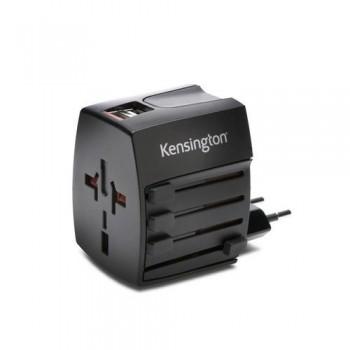 ADAPTADOR CORRIENTE INTERNACIONAL DE VIAJE USB 2,0 KENSINGTON