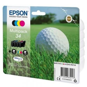 EPSON CARTUCHO TINTA C13T34664010 Nº 34 BK/C/M/Y