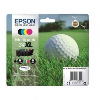 EPSON CARTUCHO TINTA C13T34764010 Nº 34XL BK/C/M/Y