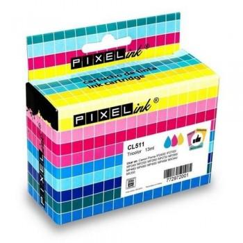 COMPATIBLE CARTUCHO CANON CL-511 COLOR PIXEL-INK