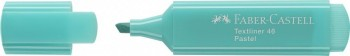 Rotulador fluorescente pastel turquesa Textliner 1546 Faber Castell *