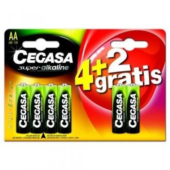 Pila Super Alkalina AA 4 + 2 pilas de regalo ESENCIALES