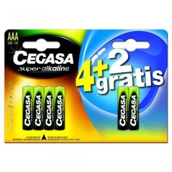 Pila Super Alkalina AAA 4 + 2 pilas de regalo ESENCIALES