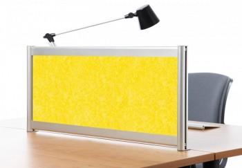 Separador acústico 40 x 140 cm. Amarillo ESENCIALES