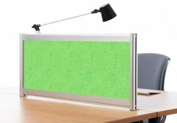 Separador acústico 40 x 140 cm. Verde ESENCIALES