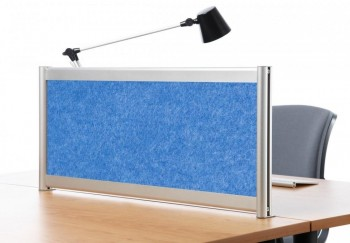 Separador acústico 40 x 180 cm. Azul ESENCIALES