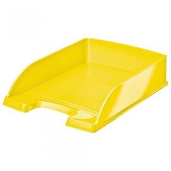 Bandeja sobremesa apilable Leitz WoW formato vertical amarillo metalizado ESENCIALES