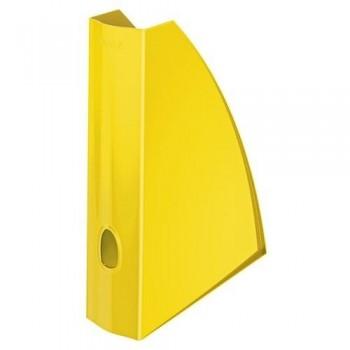 Revistero A4 Leitz WoW formato vertical lomo 60 amarillo metalizado ESENCIALES