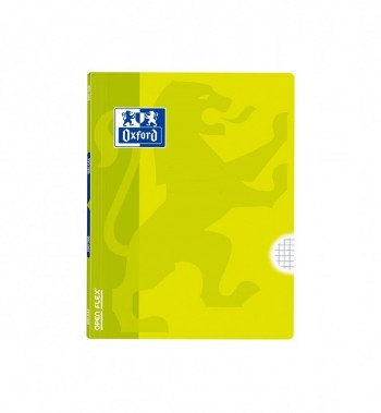 Libreta Grapada A5+ 48 hojas 90gr. tapa plástico rayado 4X4 LIMA Openflex Oxford *