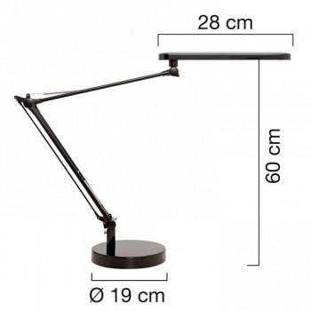 Lámpara de escritorio LED MAMBO NEGRO ESENCIALES