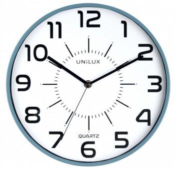 Reloj pared 28cm diámetro POP AZUL ESENCIALES