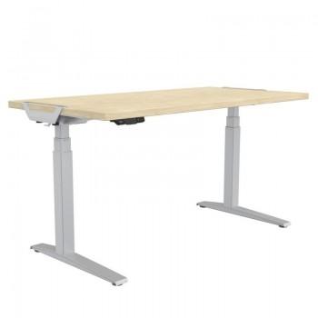 Tablero para mesa regulable en altura Levado  Roble 160x80cm ESENCIALES
