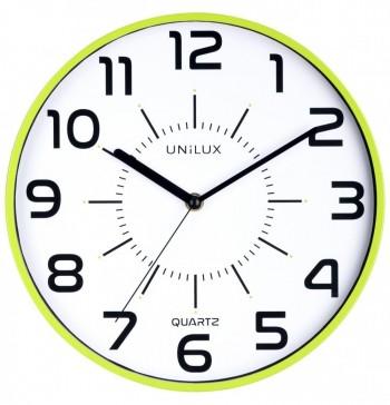 Reloj pared 28cm diámetro POP VERDE ANIS ESENCIALES
