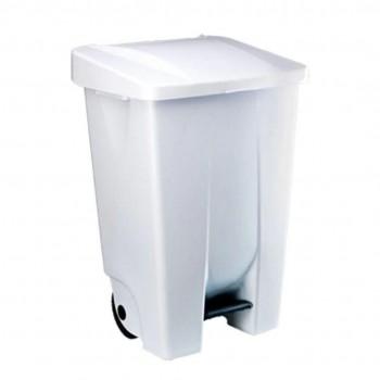 Contenedor de pedal plástico de 73,5 x 41,5 x 49 cm, 80 litros ESENCIALES