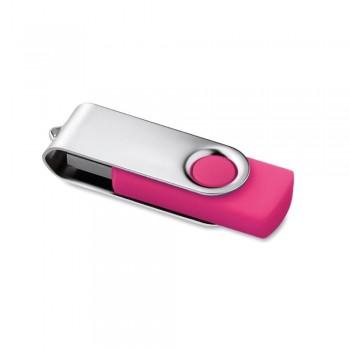 Memoria USB 16 Gb. Rotativo rosa ESENCIALES