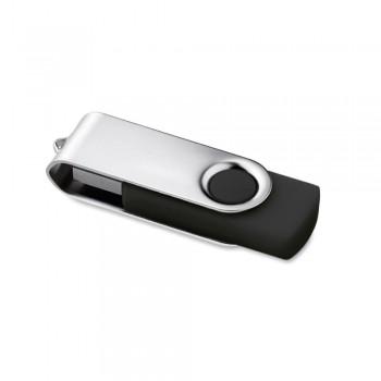 Memoria USB 16 Gb. Rotativo negro ESENCIALES