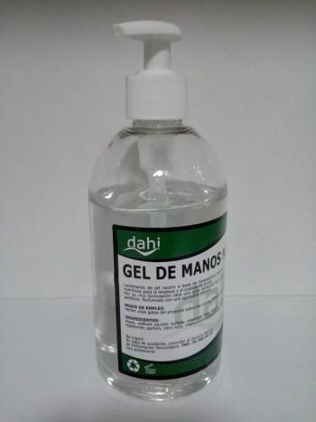 Gel hidroalcohólico 500 ml con dosificador