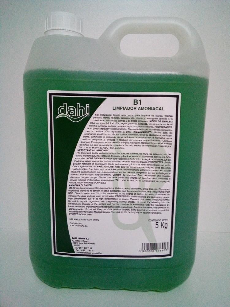 Amoniacal 5l garrafa POOL PINO
