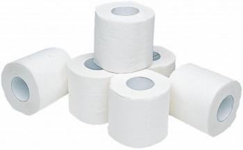 Papel higiénico encolado 2 capas 22m reciclado fardo 9 pack 12 rollos