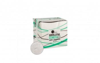 Servilleta celulosa 2 capas 30x30 100 un. caja 48 paquetes