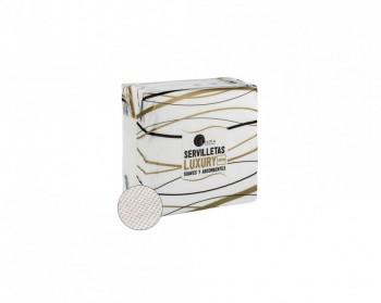 Servilleta celulosa 2 capas 40x40 50 un. caja 24 paquetes