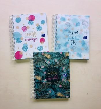 Cuaderno Europeanbook 4 Oxford & Me A5+ 120 Hojas 5x5
