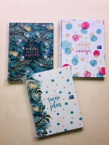 Cuaderno Europeanbook 5 Oxford & Me A4+ 120 Hojas 5x5