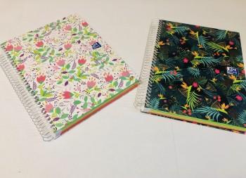 Cuaderno Europeanbook 4 Blossom A5+ 120 Hojas 5x5