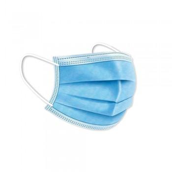 Mascarilla desechable quirúrgica tipo IIR 50 unidades azul ESENCIALES