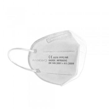 Mascarilla desechable FFP2 blanca, pack 25 un. ESENCIALES